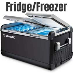 Electric-Powered Dometic CFX Fridge Freezer