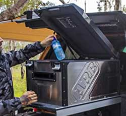 ARB Weatherproof Heavy-Duty Portable Fridge-Freezer for Camping, Job Sites, Off Roading, Fishing and More