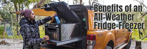 ARB All-Weather Fridge Freezer for Camping, Off Road Adventures and More