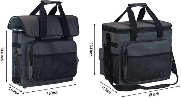 Car Cooler Bag Dimensions
