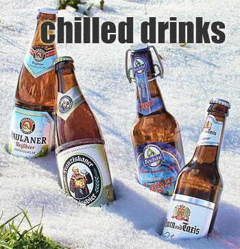 Chilled Drinks: Use Snow to Chill Your Beers