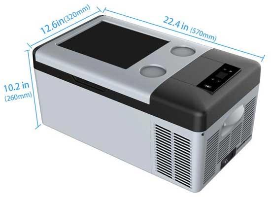 Compressor Fridge Freezer Dimensions