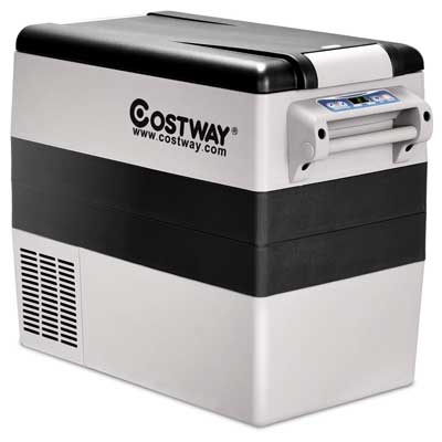Costway Portable Fridge Freezer