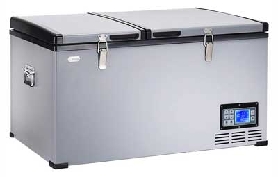 Costway Travel Refrigerator Freezer