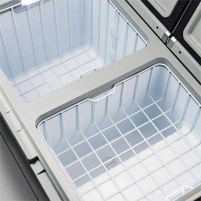 Dometic CFA 75DZW Cooler Interior