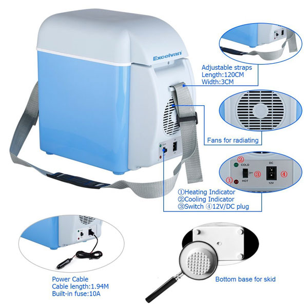 Excelvan BT17 7.5L 12V Car Refrigerator (and Warmer)