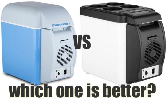 Excelvan Car Refrigerator: BT16 vs BT17 - Which One is Better?