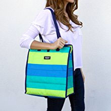 Packit Freezable Grocery Bag with Convenient Shoulder Strap