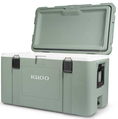 Igloo Mission Cooler Keeps Food and Drinks Cold for a Week