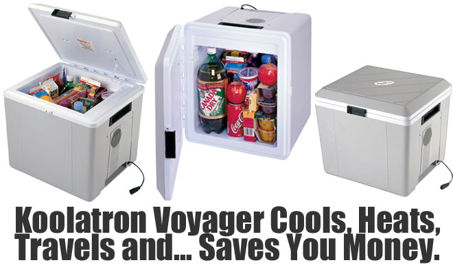 Koolatron Voyager P27 Car Cooler and Warmer