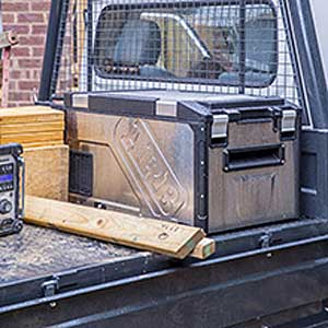 Mount the ARB Elements All Weather Car Cooler Securely to the Exterior of Your Vehicle