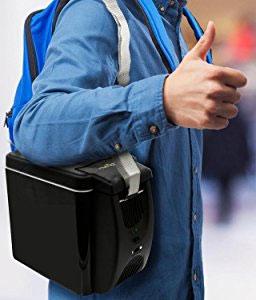 NutriChef Portable Cooler with Convenient Detachable Shoulder Strap