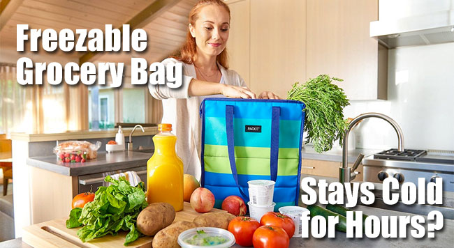 Packit Freezable Grocery Bag Stays Cold for Hours