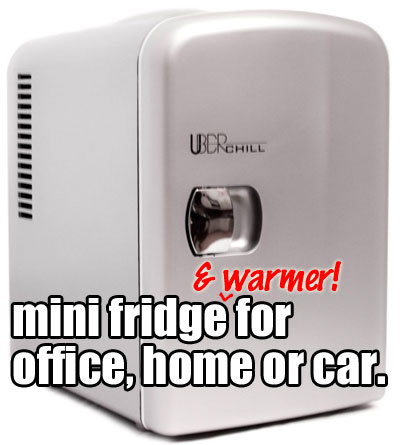 Uber Chill Mini Fridge + Warmer