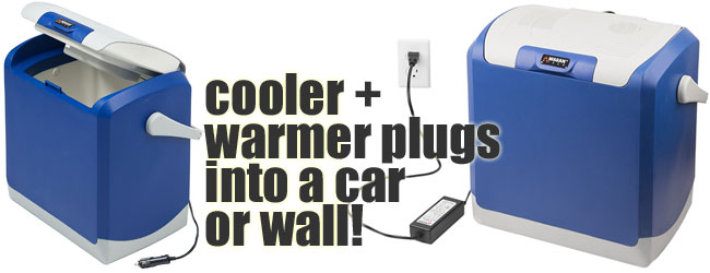 Wagan Car Cooler Warmer Plugs into Car or Wall