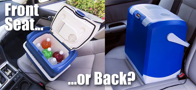 Wagan Electric Car Cooler Fits in Front Seat of Car and Back Seat