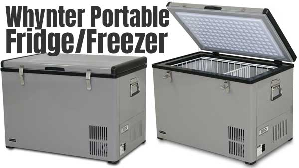 Whynter Portable Fridge Freezer